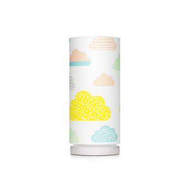 Lamps&co. - Lampka Nocna Pastelowie Chmurki ze Ściemniaczem