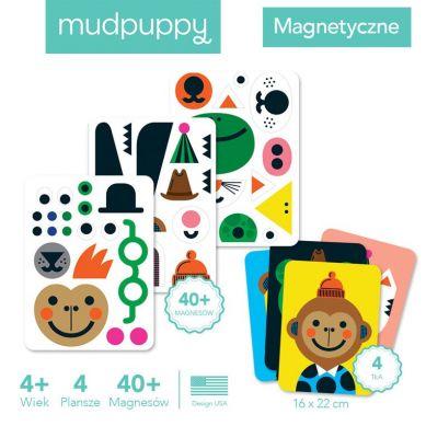 Mudpuppy - Magnetyczne Postacie Magiczne Buźki 4+