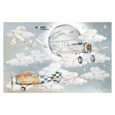 Dekornik - Naklejki Samoloty / Magic Is Everywhere L
