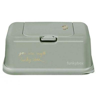 Funkybox - Pojemnik na Chusteczki Olive Lucky Clover