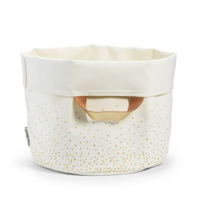Elodie Details - Duży Pojemnik StoreMyStuff Gold Shimmer