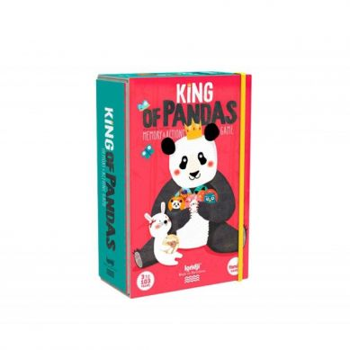 Londji - Gra Memo dla Dzieci Król Panda 3+