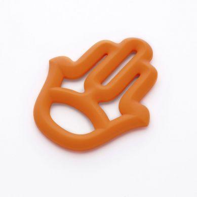 Minikoioi - Gryzak Silikonowy Pomarańczowy