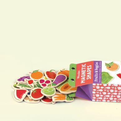 Mudpuppy Magnesy w Pudełku Owoce i Warzywa