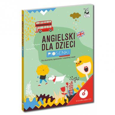 Kapitan Nauka - Angielski Dla Dzieci Piosenki (Książka + Audio CD) 3+
