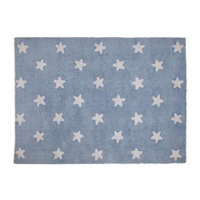 Lorena Canals - Dywan do Prania w Pralce Blue Stars White 120x60cm