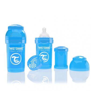 Twistshake - Butelka Anty-kolkowa 180ml Niebieska