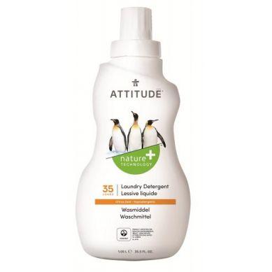 Attitude - Płyn do Prania Skórka Cytrynowa Citrus Zest 35 prań 1050 ml