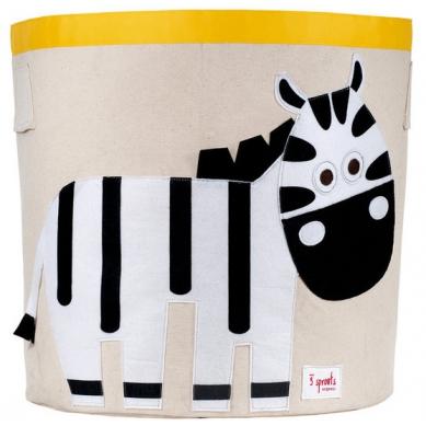 Kosz na Zabawki Zebra 3 Sprouts