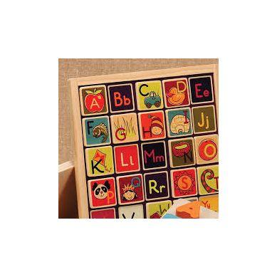 B. Toys  -Tablica magnetyczna i do kredy z Literkami