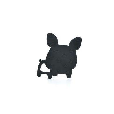 Loulou Lollipop - Gryzak Silikonowy Boston Terrier