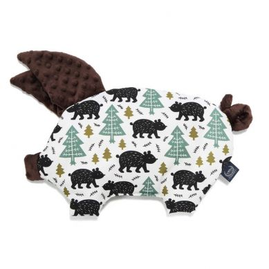 La Millou - Podusia do Wózka Sleepy Pig Alaska Baribal Chocolate