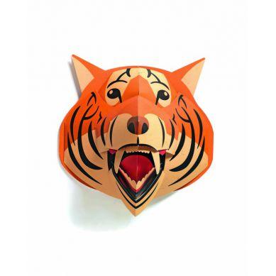 Djeco - Składanka Papierowa Tygrys 3D