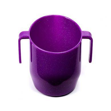 Kubeczek Doidy Cup Fiołkowy z Brokatem
