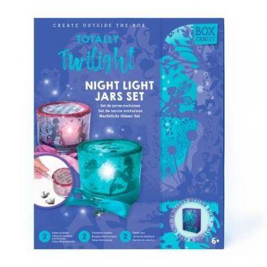 Box Candiy - Zestaw Kreatywny Nocne Lampki 6+