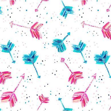 La Millou - Trójkątna Chustka Boho Neon Arrows