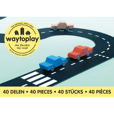 Waytoplay - Droga Do Układania 40el KING OF THE ROAD
