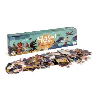 Londji - Puzzle 1, 2, 3 Go! 5+