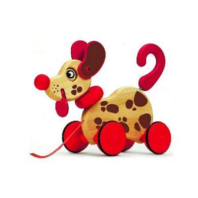 Djeco - Zabawka do Ciągnięcia Piesek Browny