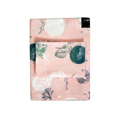 Lullalove - Bawełniana Pościel 100x135 cm Rose Garden