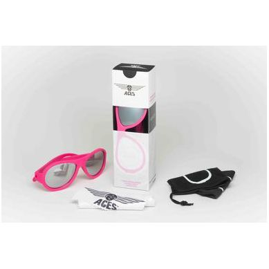 Babiators  - Aces Galactic Pink Popstar Lenses 7-14 lat