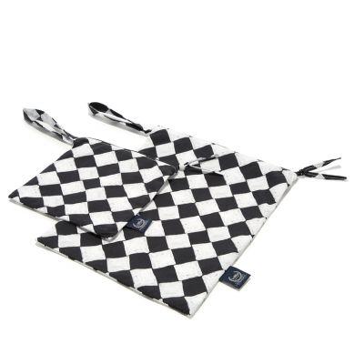 La Millou - Kosmetyczka Podróżnika Compact Size Follow Me Chessboard