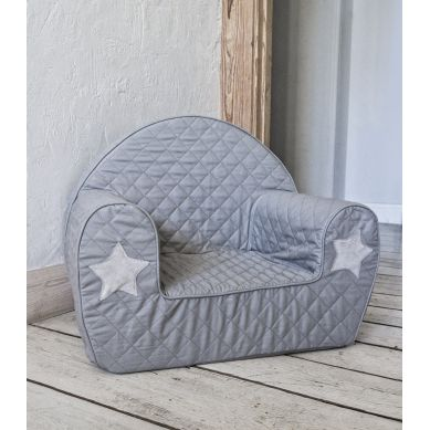 Muzpony - Wygodny Fotelik dla Dziecka Milky Grey