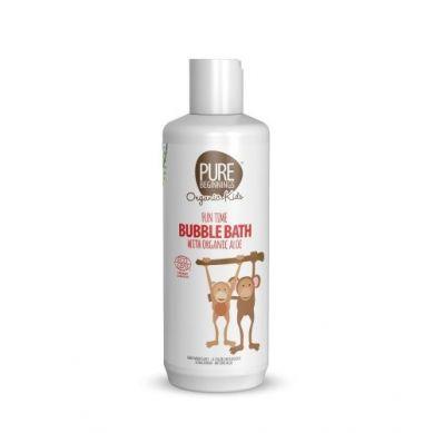 Pure Beginnings Organic Kids - Płyn do Kąpieli z Bąbelkami i Organicznym Aloesem 375ml