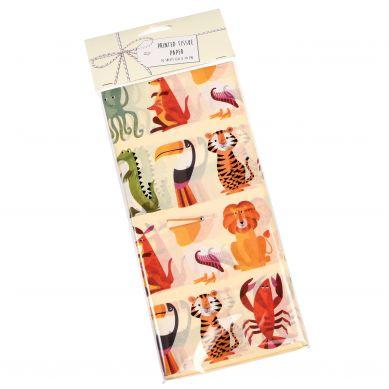 Rex - Zestaw 10 Bibuł Ozdobnych Colour Creatures