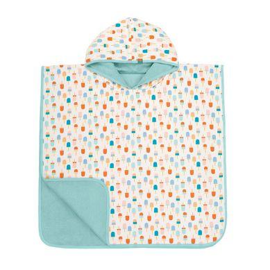 Lassig - Ręcznik Poncho 120x60 UV 50+ Ice Cream