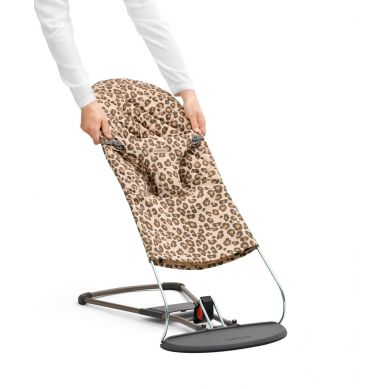 BabyBjorn - Poszycie do Leżaczka Balance Bliss Beż/Leopard Cotton