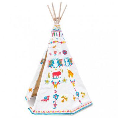 Vilac - Tipi Indiański Namiot dla Dzieci By Nathalie Lété