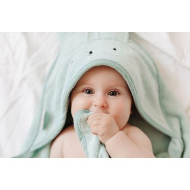 My Memi -  Bambusowy ręcznik dusty mint - rabbit