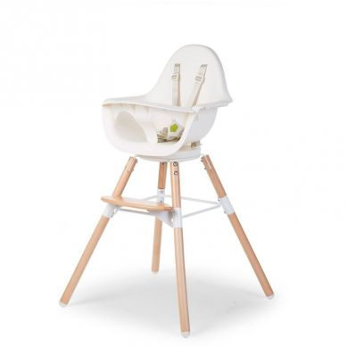 Childhome - Krzesełko Evolu 2 ONE80 Natural/White