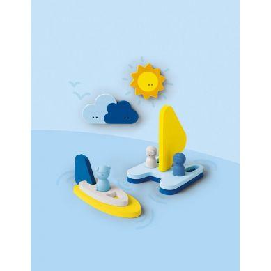 Quut - Zestaw Puzzli Piankowych 3D Quutopia Przygoda na Wodzie