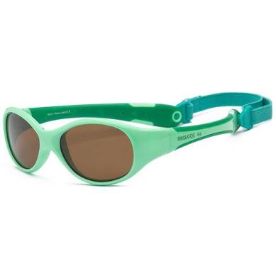 Real Kids - Okularki dla Dzieci Explorer Polarized Light Green 0+