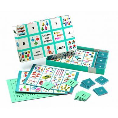 Djeco - Gry Edukacyjne Bingo, Domino