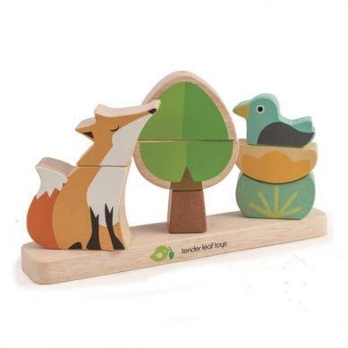 Tender Leaf Toys - Magnetyczna Układanka Lis 18m+