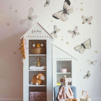 Dekornik - Zestaw Naklejek Ściennych Butterfly Dance L