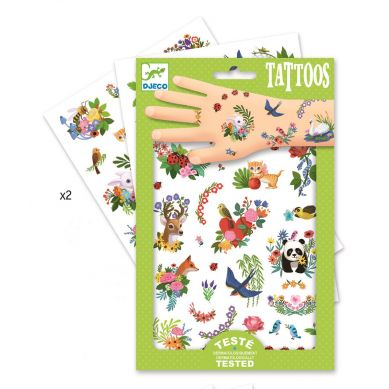 Djeco - Tatuaże Wesoła Wiosna