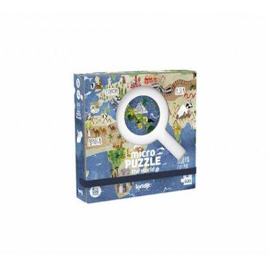 Londji - Mikro Puzzle 600 el. Odkrywaj Świat 3+