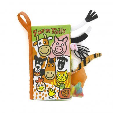Jellycat - Miękka Książeczka Coucou Farm