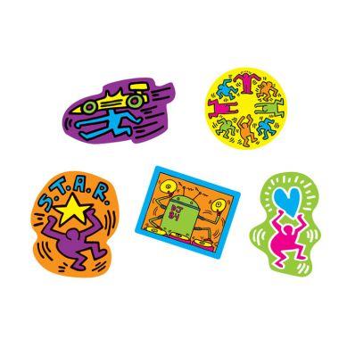 Mudpuppy - Magnesy w Pudełku Keith Haring 35 elementów