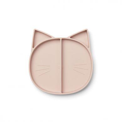 Liewood - Talerzyk Silikonowy Cat Rose