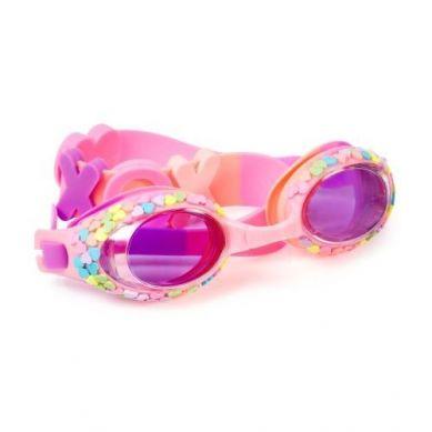 Bling2O - Okulary do Pływania Pastelowe Serduszka 3+