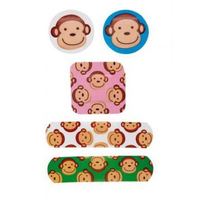NPW ROW - Zestaw Plastrów w Matalowym Pudełeczku Monkeys