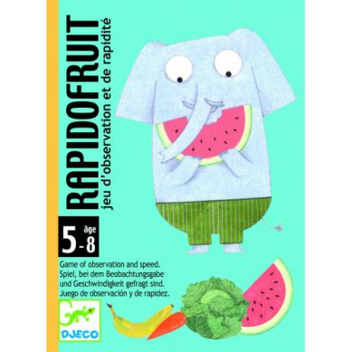 Djeco - Gra Karciana Rapido Fruit