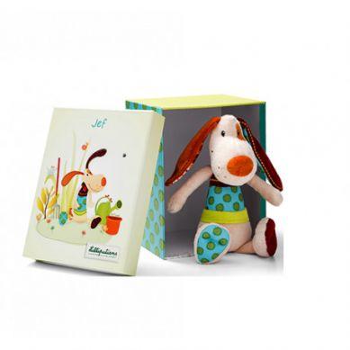 Lilliputiens - Przytulanka w Pudełku Pies Jef
