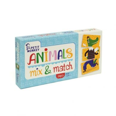 Petit Monkey - Gra Mix&Match Animal