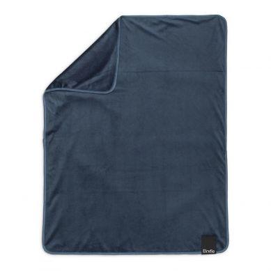 Elodie Details  - Kocyk Pearl Velvet Juniper Blue